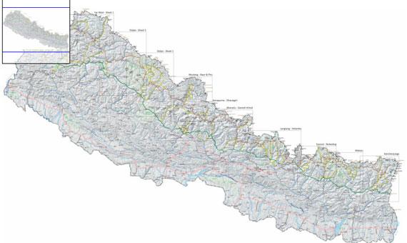 Digital map GHT