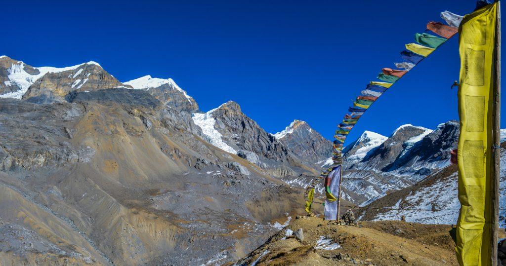 On the way to Thorong La High Camp. Photo by Rishav Adhikari