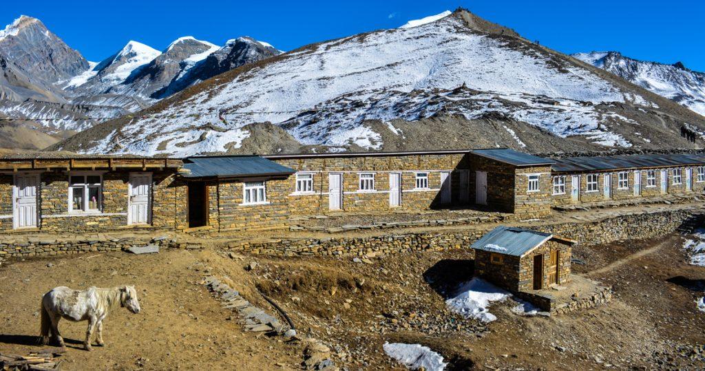 Thorong la High Camp lodge. Photo by Rishav Adhihari
