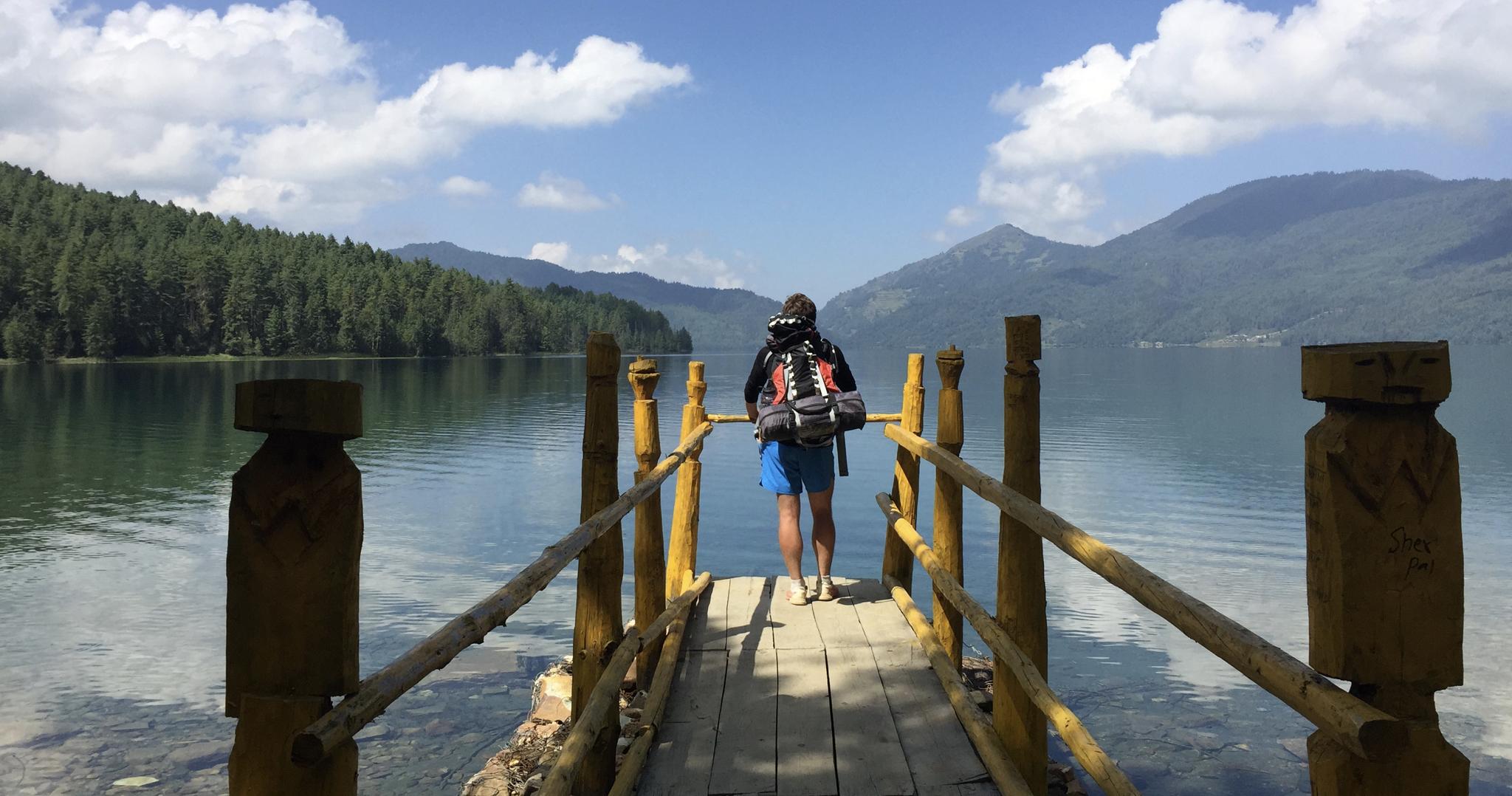 Rara Lake by Madeleine Dolling