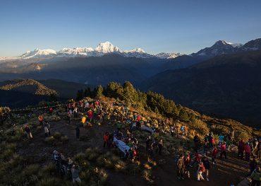 Annapurna Panorama via PoonHill